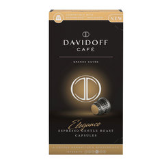 """Капсулы для кофемашин NESPRESSO """"Cafe elegance"""", натуральный кофе, 10 шт. х 5,5 г, DAVIDOFF"""