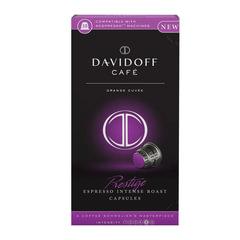 """Капсулы для кофемашин NESPRESSO """"Cafe prestige"""", натуральный кофе, 10 шт. х 5,5 г, DAVIDOFF"""