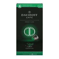 """Капсулы для кофемашин NESPRESSO """"Cafe style"""", натуральный кофе, 10 шт. х 5,5 г, DAVIDOFF"""