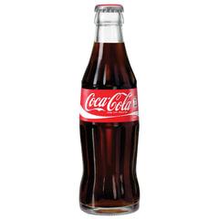 Напиток газированный COCA-COLA (Кока-кола), 0,33 л, стеклянная бутылка