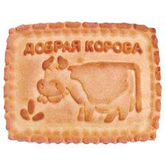 """Печенье БЕЛОГОРЬЕ """"Добрая корова-Топленочка"""", сахарное, 6,5 кг, весовое, гофрокороб"""