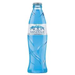 Вода негазированная питьевая AQUA MINERALE (Аква Минерале), 0,26 л, стеклянная бутылка