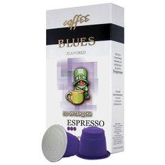 """Капсулы для кофемашин NESPRESSO, """"По-ирландски"""", натуральный кофе, BLUES, 10 шт. х 5 г"""