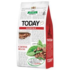 """Кофе в зернах TODAY """"Blend №8"""", натуральный, 800 г, 100% арабика, вакуумная упаковка"""