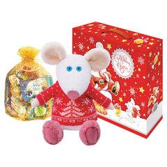 """Подарок новогодний """"Новогодний набор №12"""", 700 г, мягкая игрушка"""