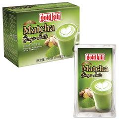 """Матча Латте с имбирем и лимоном """"Matcha Ginger Latte"""", 10 саше по 25 г, GOLD KILI"""