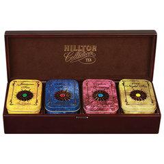 """Шкатулка HILLTOP """"Звездная коллекция"""", коллекция листового чая в деревянной шкатулке, 220 г"""