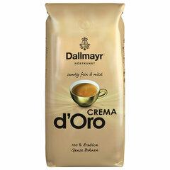 """Кофе в зернах DALLMAYR (Даллмайер) """"Crema d`Oro"""", арабика 100%, 1000 г, вакуумная упаковка"""