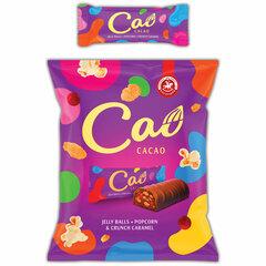 Конфеты шоколадные CAO с мармеладом, взрывной карамелью и кукурузными хлопьями, 1 кг