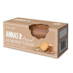 """Печенье песочное миндальное тонкое ANNAS """"Almond Thins"""" (Швеция), 150 г"""