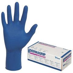 Перчатки латексные смотровые, КОМПЛЕКТ 25 пар (50 шт.), неопудренные, сверхпрочные, XL, DERMAGRIP High Risk