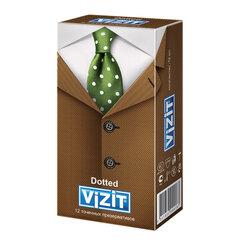 Презервативы латексные VIZIT Dotted, комплект 12 шт., с точками