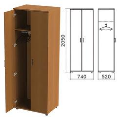 "Шкаф для одежды ""Монолит"", 740х520х2050 мм, цвет орех гварнери, ШМ50.3"