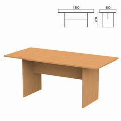 """Стол для переговоров """"Арго"""", 1800х850х760 мм, груша арозо"""
