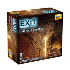 """Игра настольная """"EXIT-КВЕСТ. Гробница Фараона"""", игровое поле, карточки, ЗВЕЗДА"""