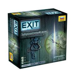 """Игра настольная """"EXIT-КВЕСТ. Заброшенный дом"""", игровое поле, карточки, ЗВЕЗДА"""