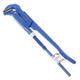 Ключ трубный рычажный №1, СИБРТЕХ, литой, регулируемый захват 10-36 мм, L=300 мм, 15758