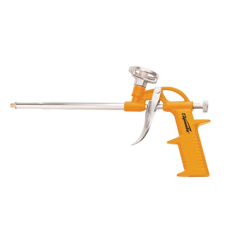Пистолет для монтажной пены, SPARTA, корпус металл/пластик, облегченный, 88674