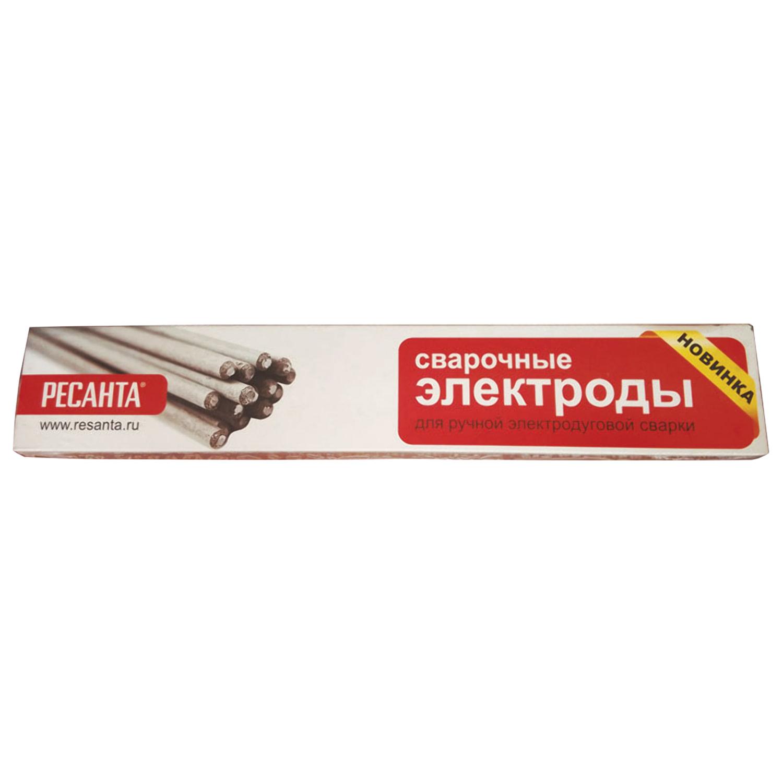 Электроды сварочные МР-3, РЕСАНТА, диаметр 3 мм, пачка 1 кг