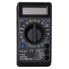 Мультиметр DT 838, ТЕК (РЕСАНТА), жк-дисплей, режим измерения температуры