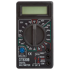 Мультиметр DT 830B, ТЕК (РЕСАНТА), жк-дисплей