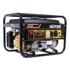 Электрогенератор Huter DY3000L, бензиновый, мощность 2,8 кВт, напряжение 220 В, ручной стартер