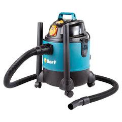 Пылесос универсальный, 1200 Вт, сухая/влажная уборка, сила всасывания 250 Вт, бак 20 л, BORT BSS-1220-Pro