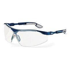 Очки защитные открытые UVEX Ай-Во, прозрачные, регулируемые дужки, защита от царапин, запотевания, химикатов, 9160285